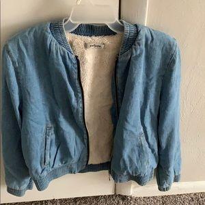 Charlotte Ruse wool jean jacket
